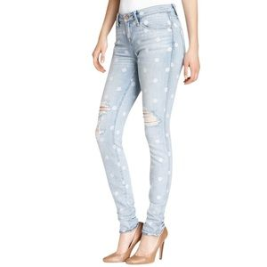 MARC BY MARC JACOBS | Rolled Slim Lily Dot Jeans